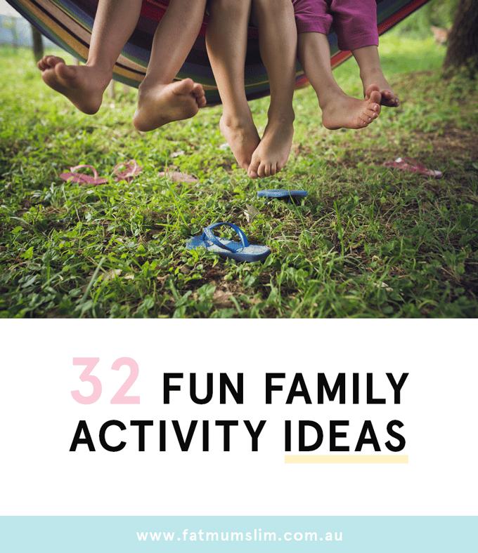 Activités pour la famille